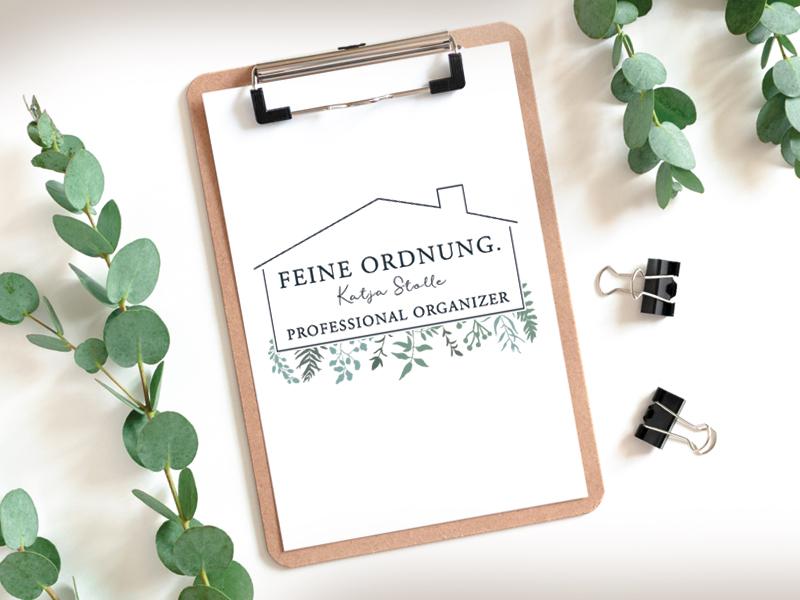 Feine Ordnung, Logogestaltung - Corinne Brockmüller
